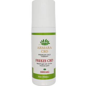 CBD Freeze Gel Roll On | CBD Roll On Gel | CBD Gel | Armara Glow