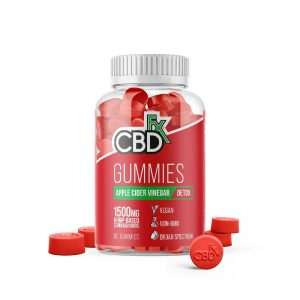 cbd gummies with apple cidar
